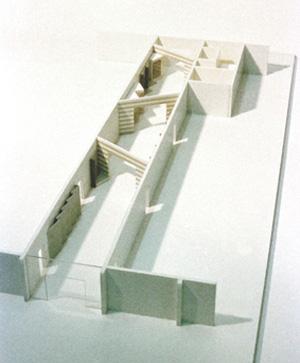Ausstellungsraum - Entwurfsmodell