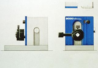 Mikrotom - Studie Gerätefront